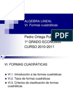 Algebra Lineal Tema 6