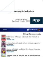 Introducao a Administracao Industrial