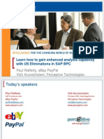 4403 ASUG SAP Presentation Learn How to Gain Enhanced Analysis Capability With US Eliminations in SAP BPC FINAL