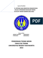 laporan instrumen penelitian