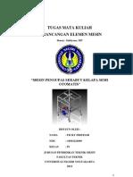 Proposal Perancangan Teknik Mesin