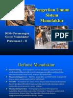 1 - Sistem Manufaktur