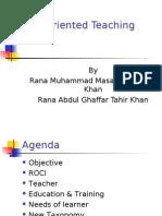 Result Oriented Teaching by Abdul Ghaffar Tahir