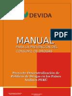 Manual de Prevencion de Consumo de Drogas