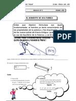 II BIM - 1ero. - FIS - Guía Nº 5 - El Movimiento de una fuer