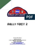 Rally Guide 2 Rally of Celebes 2013