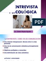 ENTREVISTA PSICOLOGICA