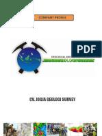 Company Profile JGS - 2012