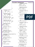 Ecuaciones Exponenciales Falta