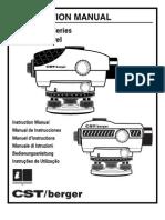 CST n55-Slvp28nd Manual
