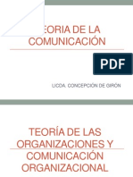TEORIA DE LA ORGANIZACIÓN