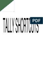 T Shortcuts