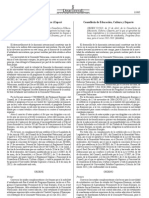 Bases reguladores i la convocatòria per a complementar les beques a  la mobilitat d'estudiants de la C. Valenciana, Programa Erasmus, per al curs  2012-2013