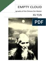 Empty-Cloud the Autobiography of Xu Yun