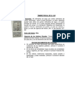 timbres fiscales