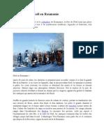 Traditions de Noël en Roumanie