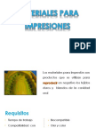 Materiales de Impresion PAO y MILTON Ojo