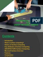 Surface Computing pptx
