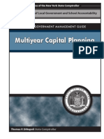 Capital PlanningLocal government management guide- Multiyear Capital Planning