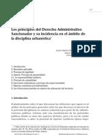 Principios de Drecho Administrativo Sancionador