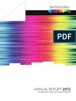 Technicolor 2012 Annual Report