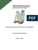 Manual de Laboratorio de Cristalografía