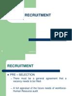 Lesson 6 - Recruitment