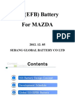 iss battery schedule for mazda
