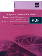 Designs Guide to en 1994-2, Eurocode 4