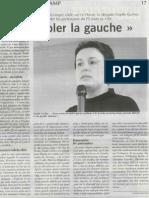 Rassembler La Gauche