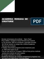 Academia Romana de Croitorie