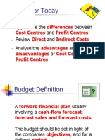 15_Cost and Profit Centres