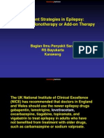 Treatment Strategies in Epilepsy