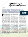 Machinery and the Biological Farm System