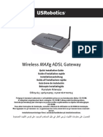 Wireless MAXg ADSL Gateway
