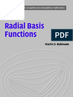 Buhmann M D - Radial Basis Functions, Theory and Implementations (CUP 2004)(271s)