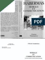 Habermas - Morale Et Communication