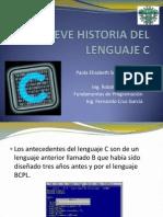 Breve Historia Del Lenguaje C