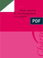 Charte Nationale de l'Accompagnement à la scolarité
