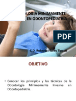 Odontologia Minimamente Invasiva en Odontopediatria 2013