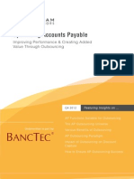 Optimizing Accounts Payable - Whitepaper by BancTec - BPO Services Provider