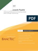 Optimizing Accounts Payable - Whitepaper by BancTec - BPO Services Provider