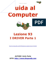 Guida al Computer - Lezione 93 - I Driver Parte 1