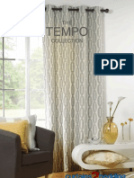 Tempo Collection Curtains2bedding Flame Retardant Curtain Fabrics. Brochure for Hotels, Carehome and Businesses