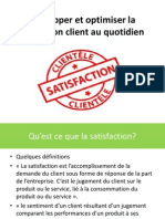 DEVELOPPER ET OPTIMISER LA SATISFACTION CLIENT AU QUOTIDIEN.pptx
