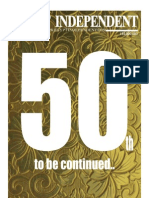 Egypt Independent's 50th and final print edition