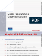 3. Linear Programming- Graphical Solution