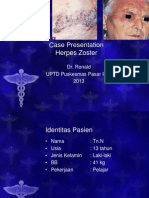 Case Presentation Herpes Zoster