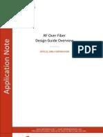 RFoF Link Design Guideline