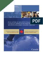 Etat Du Multiculture Au Canada